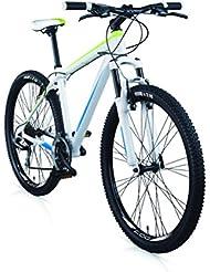 """Vélo VTT MBM 227 en aluminium, suspension avant, 27.5"""", 21 vitesses, freins à disques en option"""