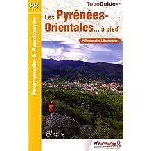 Pyrenees Orientales a Pied 25PR: FFR.D066