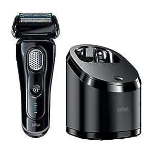 Braun Series 9 9050cc - men's shavers (AC/Battery, Lithium-Ion (Li-Ion), Foil, Black, Charging, Cleaning)