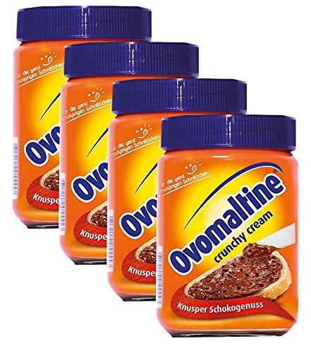 Ovomaltine Crunchy Cream, Brotaufstrich 4 x  380g