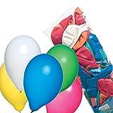 Susy Card 11442936 Luftballons, Latex, farbig sortiert, 500 Stück im Polybeutel