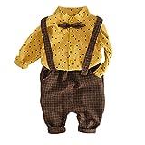 Vovotrade☃ 12M-3Y Vestito a Maniche Lunghe per Bambini a Maniche Lunghe, T-Shirt con Stampa Stelle Bambino Neonato Bambino