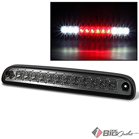 1999-2015 F-Series Super Duty Smoked LED 3rd Brake Light w/ LED Cargo, Reverse 2000 2001 2002 2003 2004 2005 2006 2007 by Xtune