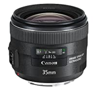 Canon EF 35mm f/2 IS USM - Objetivo para canon (distancia focal fija 35m...