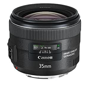 Canon Obiettivo a Focale Fissa Ultrasonico Stabilizzato, EF 35 mm f/2 IS USM