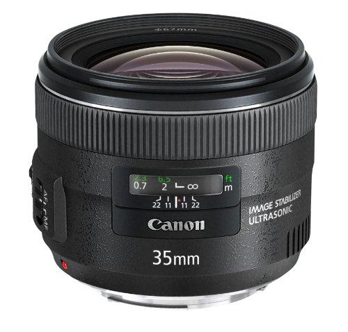 Canon EF 35mm Objektiv 1:2 IS USM (67mm Filtergewinde) schwarz (Cannon Objektiv-adapter)