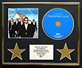 BACKSTREET BOYS/CD Display/Edicion Limitada/Certificato di autenticità/THE VERY BEST OF