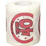 onlyglobal papier toilette Décoration pour fête joyeux anniversaire tissu Rouleau Nouveauté blague cadeau