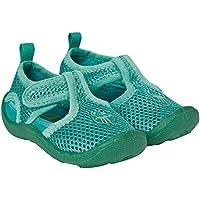 Lässig 1432001500 Beach Sandals Strandschuhe, Lagoon, Schuhgröße: 18, grün