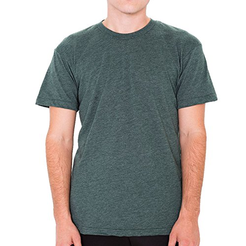 American Apparel Herren T-Shirt Heather Forest