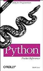 Python Pocket Reference, 2nd Edition by Mark Lutz (2001-11-17)