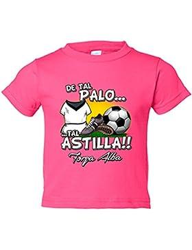 Camiseta niño De tal palo tal astilla Albacete fútbol