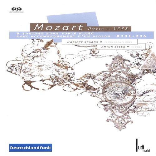Preisvergleich Produktbild Mozart: 6 Sonaten für Fortepiano & Violine KV 301-306 (gespielt auf einem Tangentenflügel)