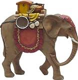 Elefant, geeignet für 13cm Figuren, handbemalen