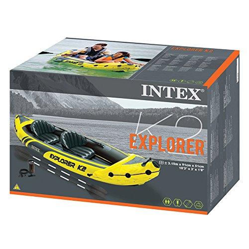 Intex Kajak Explorer K2 für 2 Personen im Test + Preis-Leistungsvergleich - 5