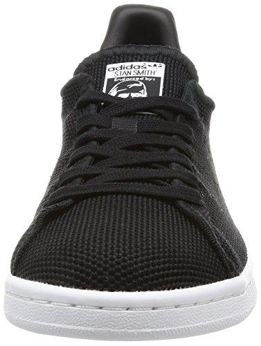 adidas Unisex-Erwachsene Stan Smith Basketballschuhe Schwarz (Cblack/Cblack/Ftwwht)
