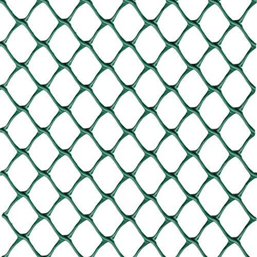 rete salvaprato tenax tr, impedisce al cane di scavare buche in giardino, verde, 1x5 m