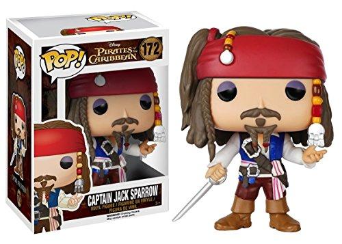Funko Pop Capitán Jack Sparrow (Piratas del Caribe 172) Funko Pop Disney