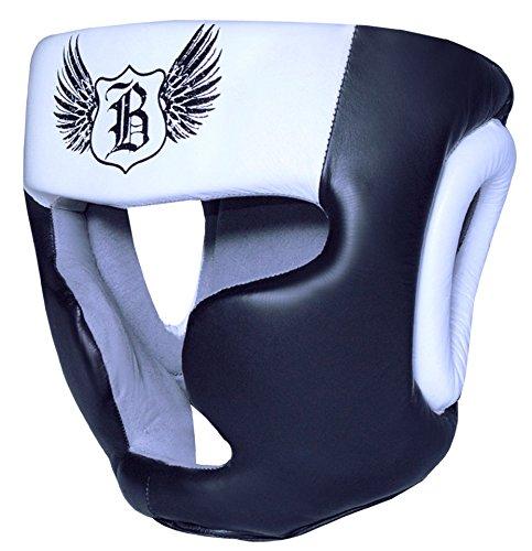 Boom Pro Leder Boxing Kopfschutz MMA Martial Arts