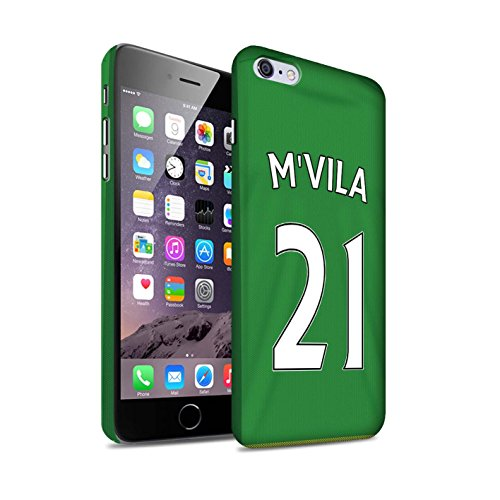 Officiel Sunderland AFC Coque / Clipser Matte Etui pour Apple iPhone 6+/Plus 5.5 / Pack 24pcs Design / SAFC Maillot Extérieur 15/16 Collection M'Vila