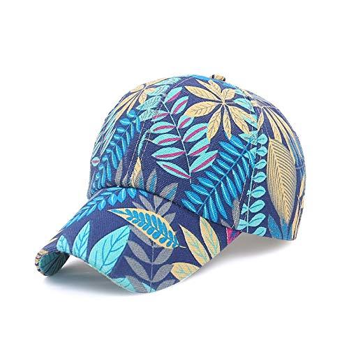 LINSID HUT-Mode Baseballmütze Unisex Schöne Kappen Frauen Männer Hysteresenkappe Papa Hut Sommer Einstellbare Gorras blau