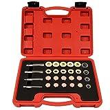 Timbertech Reparaturset 64-teilig für Ölablassschraube Ölwanne aus Carbonstahl inkl. 4 verschiedene Gewindegrößen M13,M15,M17,M20