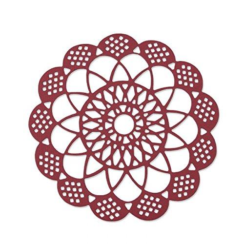 Sizzix 661720 fustella thinlits merletto antico samantha barnett, steel, multicolour, 23x12.4x0.2 cm