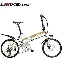 lankeleisi G550 bicicleta eléctrica con configuración avanzada – 20 pulgadas 48 V/240 W 10