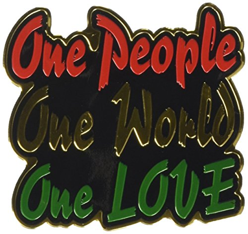 REGGAE & RASTA, One People One World One Love, Officially Licensed Original Artwork, 2.4