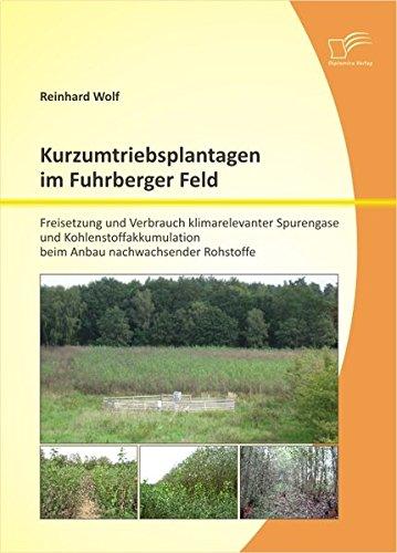Kurzumtriebsplantagen im Fuhrberger Feld: Freisetzung und Verbrauch klimarelevanter Spurengase und Kohlenstoffakkumulation beim Anbau nachwachsender Rohstoffe