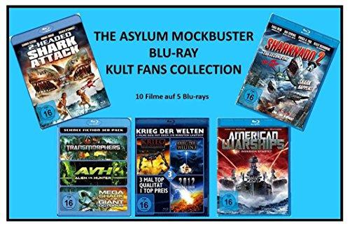 The Asylum Mockbuster Blu-ray Kult Fans Collection ( 10 Filme )