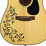 Best Ibanez acoustiques Guitares - PRO pour guitare acoustique Motif floral en vinyle Review