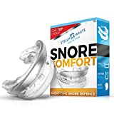SNORE COMFORT dispositif anti ronflement orthèse dentaire adaptable,conception novatrice Suedoise.