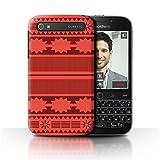 Stuff4® Hülle/Case für BlackBerry Classic/Q20 / Aztek/Prinzessin Kleid Muster/Karikatur Polynesische Prinzessin Kollektion