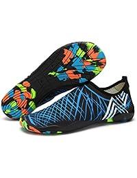 GTKC Unisex Zapatos Descalzos Por La Playa, Nadar Surf Yoga de Secado R¨¢Pido de La Playa de La Piel de Los Zapatos Para La Pareja