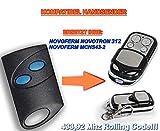 NOVOFERM NOVOTRON 312, MCHS43-2 kompatibel handsender, 4-kanal ersatz sender, 433.92Mhz rolling code. Top Qualität ersatzgerät!!!