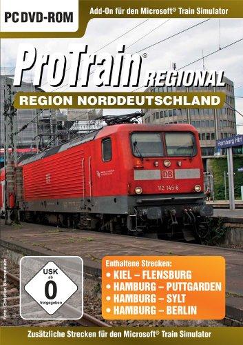 Preisvergleich Produktbild Train Simulator - ProTrain Regional: Norddeutschland (Add - On) - [PC]