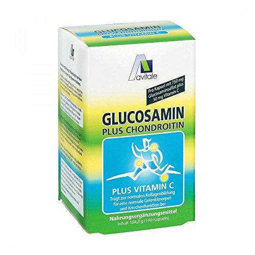 Glucosamin 750 mg+Chondroitin 100 mg Kapseln 180 stk (Kapseln 180 Chondroitin)