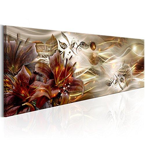 murando - Acrylglasbild Blumen 120x40 cm - Bilder Wandbild - modern - Decoration Abstrakt a-C-0063-k-c