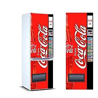 Oedim Stickers Autocollants Frigo Distributeur Automatique de cola Mesure 185 x 60 cm| Vinyle Adhésif Résistant et Facile d'appliquer |Étiquette Adhésive Décorative D'une Conception Élégante|