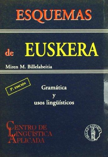 Esquemas de euskera por Miren M. Billelabeitia Bengoa