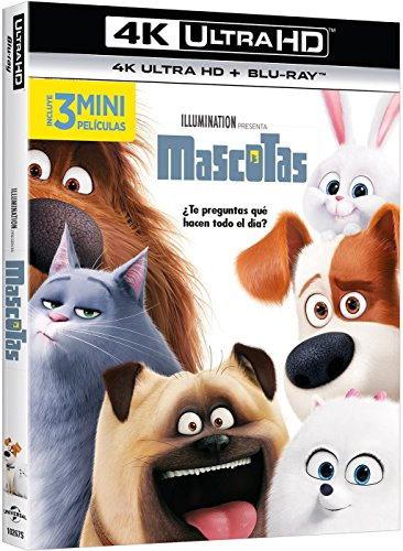 Mascotas (4K Ultra HD) [Blu-ray]