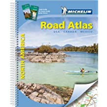 Road Atlas USA, Canada, Mexico