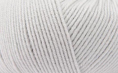 Rico Baby Classic dk fil à tricoter main - 31 Gris clair 50 g