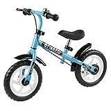 ENKEEO Laufrad Sport Balance Bike Lernlaufrad Kinderfahrrad ab 2 Jahren mit Klingel und Fahrradständer (12 Zoll...