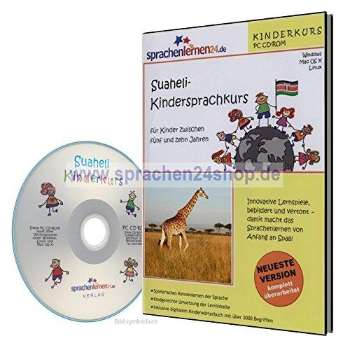 Suaheli-Kindersprachkurs auf CD, Suaheli lernen für Kinder