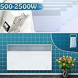 Wandkonvektor Badheizkörper Elektroheizung Heizgerät Heizkörper Heizung Elektro Heizer Wärme  2000W
