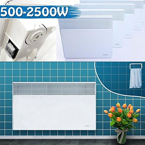 Wandkonvektor Badheizkörper Elektroheizung Heizgerät Heizkörper Heizung Elektro Heizer Wärme | 2000W