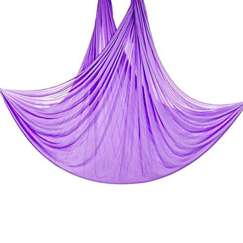 Republe 5m lungo 2.8m larghezza aerea volare anti-gravity yoga palestra amaca pilates body building fitness swing belt