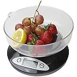 Smart Weigh CSB5KG Balance numérique avec bol amovible Noir 5kg